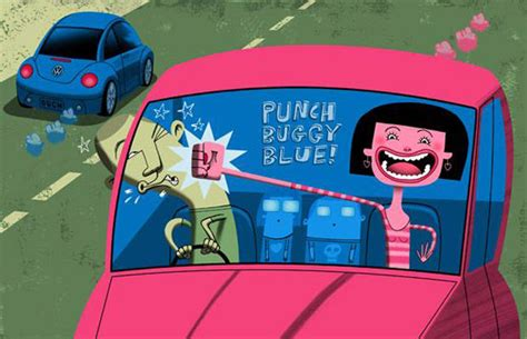 punch buggy  car games  played   kid
