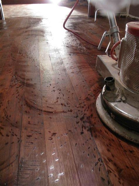 Distress hardwood floor Enumclaw WA   Hoffmann Hardwood Floors