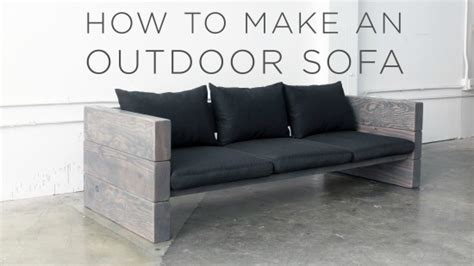 rustic outdoor sofa how to build a rustic outdoor sofa the easy way Rustic Outdoor Sofa