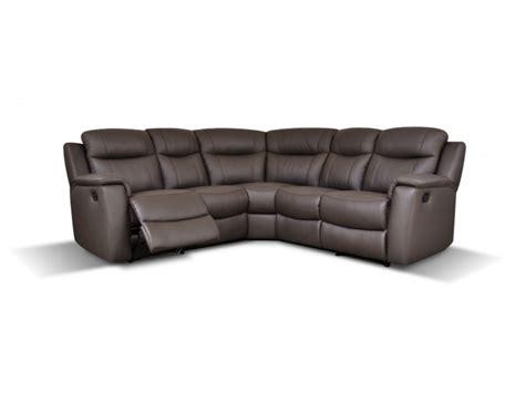 canape d angle relax electrique canapé d 39 angle relaxmanuel en cuir evasion 4 coloris