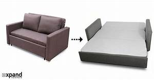 Awesome sleeper chair folding foam bed sofa with regard to for Foam pull out sofa bed