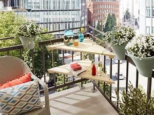 Terrassenmöbel Für Kleine Terrassen : balkonm bel f r kleine balkone selber bauen ~ Markanthonyermac.com Haus und Dekorationen