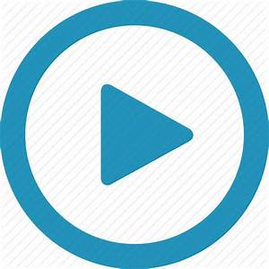 Arrow, audio, play, player, round, video icon | Icon ...