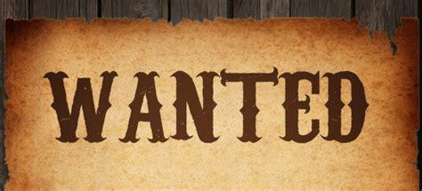 12 Reward Big Western Cowboy Fonts Images - Western Wanted ...