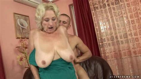 blonde grandma with huge saggy tits fucks a stud on gotporn 768970