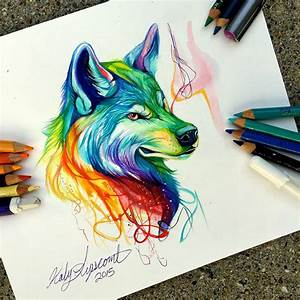 les dessins d39animaux au crayon et feutre de katy lipscomb With couleur pour un salon 15 dessins black crow tattoo