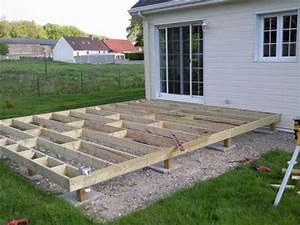 construction d39une terrasse en bois With construire sa terrasse bois