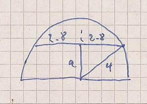 Kreismittelpunkt Berechnen : wie gross ist der abstand sehne vom kreismittelpunkt mathelounge ~ Themetempest.com Abrechnung