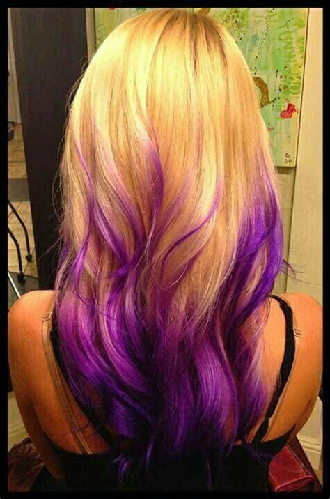 Mèche Mauve Hair Cheveux Idée Couleur Cheveux