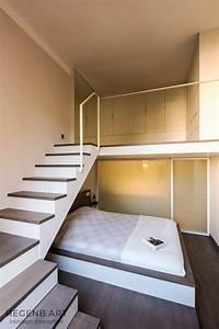 Lit Mezzanine Dressing : hegenbart chambre parentale et dressing sur mesure en ~ Premium-room.com Idées de Décoration