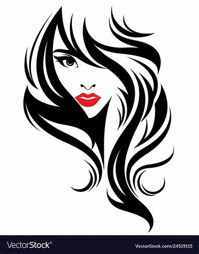 Face Makeup Clipart Mujer Clip Drawing Vectorstock