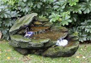 Maulwurfbekämpfung Im Garten : felsen kaskaden brunnen mit led beleuchtung 449 99 ~ Michelbontemps.com Haus und Dekorationen