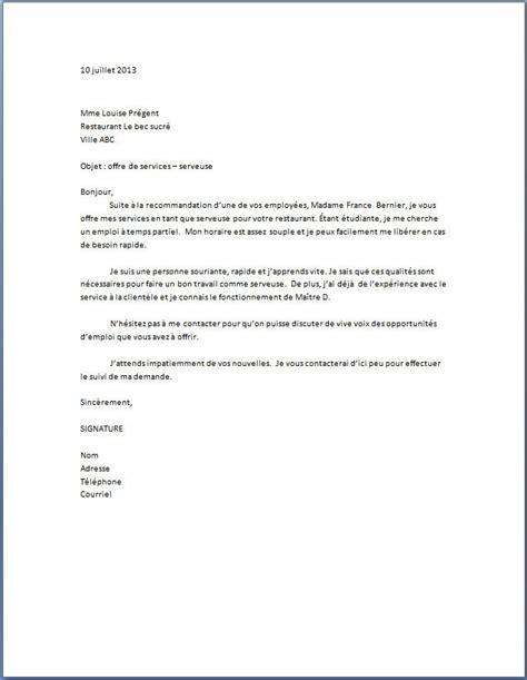 modele cv plongeur debutant lettre de pr 233 sentation lettre de motivation spontan 233 e