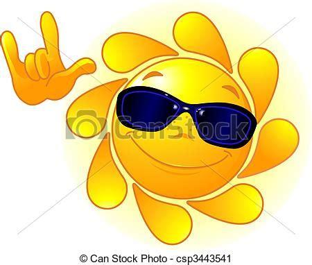 sole clipart clipart vettoriali di c 217 te occhiali da sole sole c 217 te