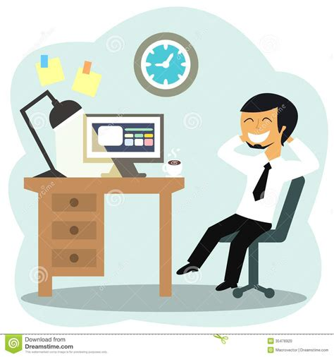 clipart bureau office person clipart 9
