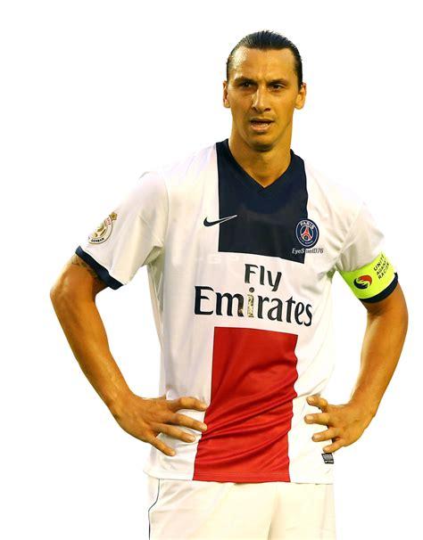 Zlatan Ibrahimovic football render - 1349 - FootyRenders