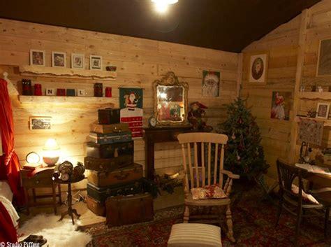 bureau du pere noel découvrez la maison du père noël décoration