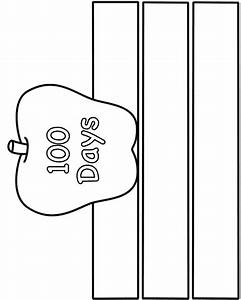 100 days of school hat paper craft black and white With 100th day hat template