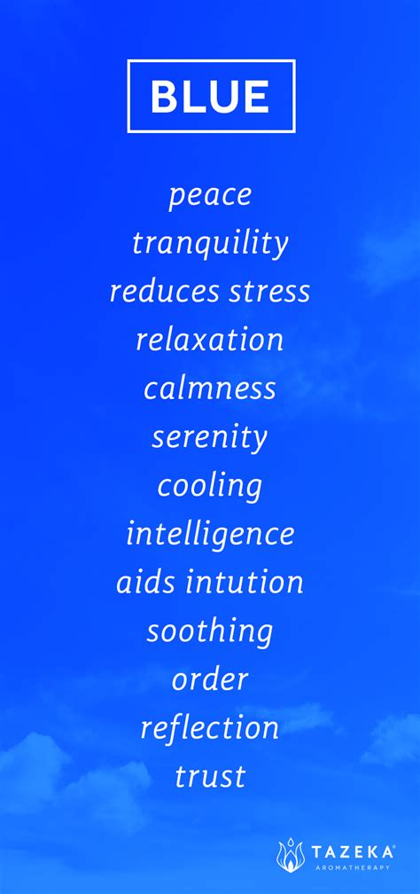 definition of color pin by tazeka aromatherapy on color psychology blue