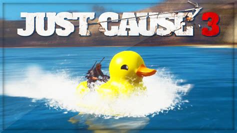 Duck Boat Easter Egg by New Rubber Duck Just Cause 3 Easter Egg Tutorial