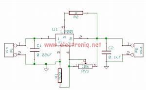 L200 Regulator Power Supply Circuit