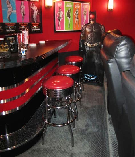 home theater bar custom built rec room  theme