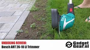 Bosch Art 26 18 Li : unboxing review bosch art 26 18 li trimmer youtube ~ Watch28wear.com Haus und Dekorationen