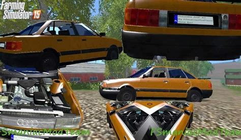 Mod Na Bmw Do Ls 15 by Placeable Audi 80 Fs 15 For Ls 15 Mod