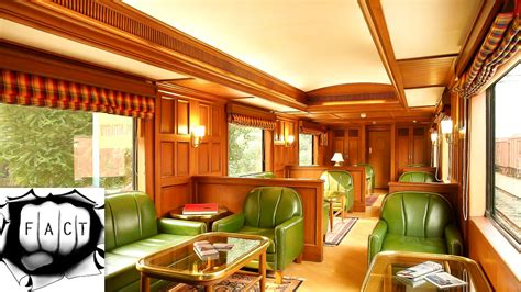 Top 5 Most Luxurious Trains of India - YouTube