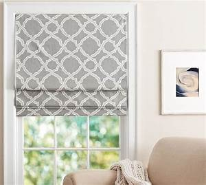 kendra trellis cordless roman shade pottery barn With cordless roman shade pattern