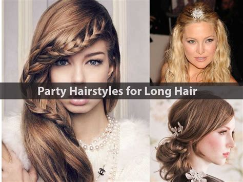 20 party hairstyles for long hair hairstyle for women