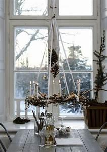 Wohnung Weihnachtlich Dekorieren : ideen f r weihnachtliche dekoration mit tannenzweigen ~ Buech-reservation.com Haus und Dekorationen