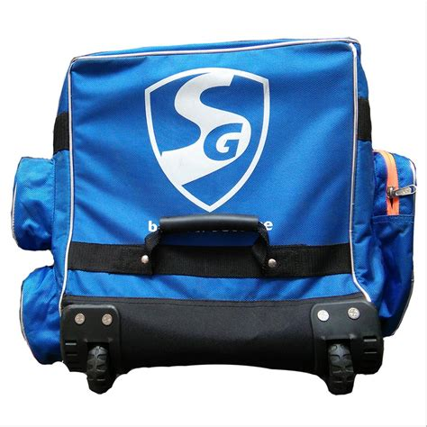 SG TestPak Wheel Cricket Kit Bag - Buy SG TestPak Wheel