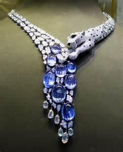 Cartier Diamond Panther Necklace