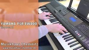 Yamaha Psr 400 : yamaha psr ew 400 demo musikhaus chemnitz youtube ~ Jslefanu.com Haus und Dekorationen