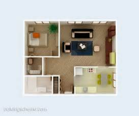 simple house plans 3d building scheme and floor plans ideas for house and office design simple 3d house plan