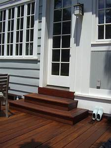No Deck Is Complete Without Matching Wooden  Steps  Repin