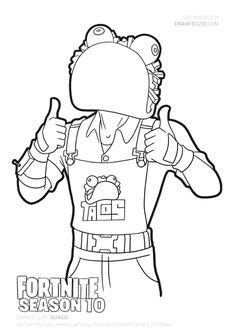 Pin on Fortnite Coloring Pages FREE Printable
