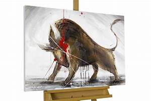 Erotische Bilder Für Schlafzimmer : acryl gem lde 39 stier bulle stierkampf 39 handgemalt leinwand bilder 90x60cm ebay ~ Michelbontemps.com Haus und Dekorationen