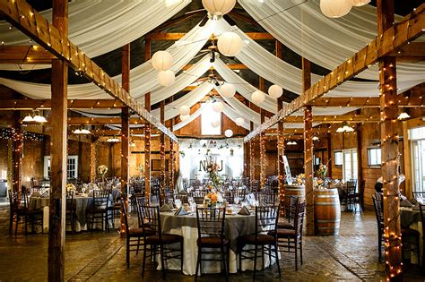 Traditional And Rustic Virginia Wedding Reception