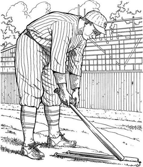 york yankee player baseball coloring page purple