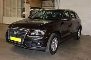 Audi Q5 Interieur : audi q5 lederen autobekleding zwart met witte stiksels ~ Voncanada.com Idées de Décoration