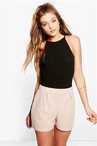 Boohoo Womens Alice Smart Casual Shorts | eBay
