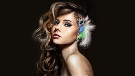 Beautifully Beautiful Girly Wallpaper by Wallpaper Princess Feather Beautiful