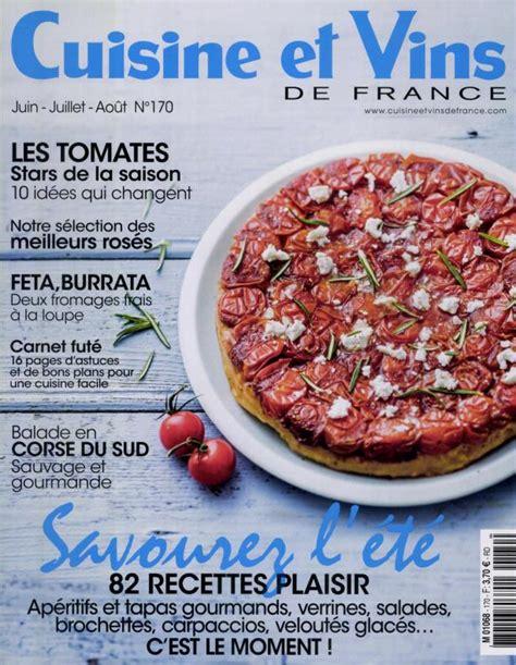 abonnement cuisine et vins de cuisine et vins de n 170 abonnement cuisine et