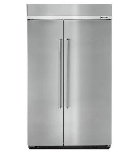 Kitchenaid Refrigerator Built In by Kitchenaid Built In Fridge Kbsn608ess