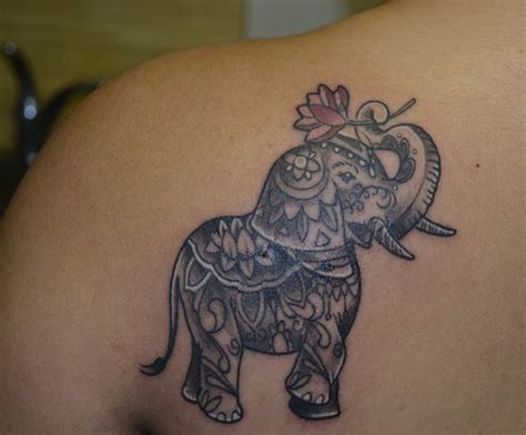 200+ Inspirational Elephant Tattoos And Meanings [2017