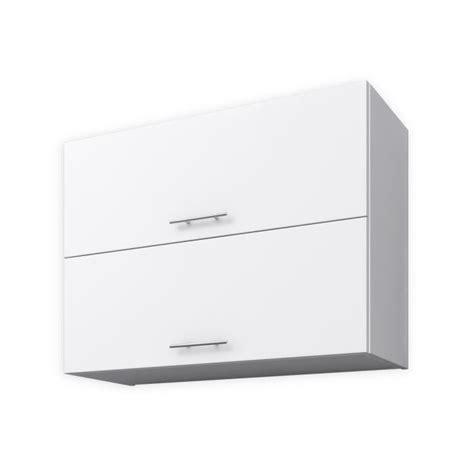 meuble haut cuisine 80 cm obi meuble haut de cuisine 80 cm blanc mat achat