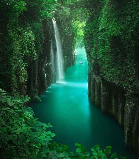 Peaceful Takachiho Gorge In Kyushu Japan Nature