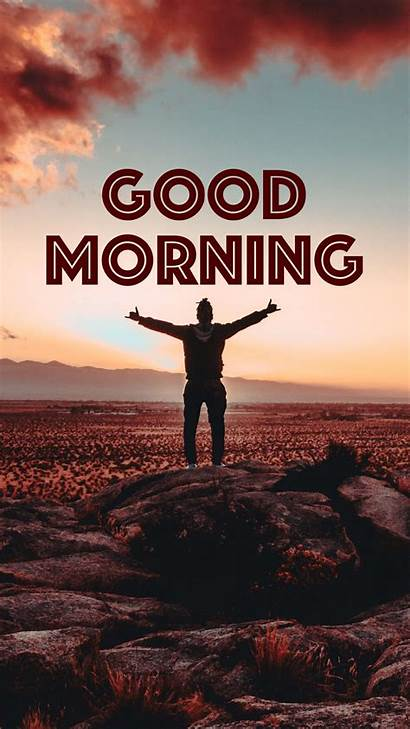 Morning Wallpapers Background Inscription Silhouette Victory Definition